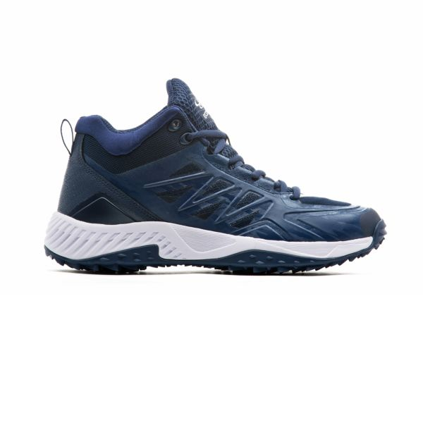 Men's Challenger Mid Turf Shattered Navy/White