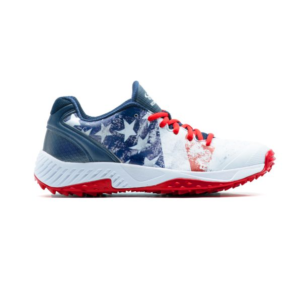 Men's Dart Flag 2 Low Turf Shoes Navy/White/Red