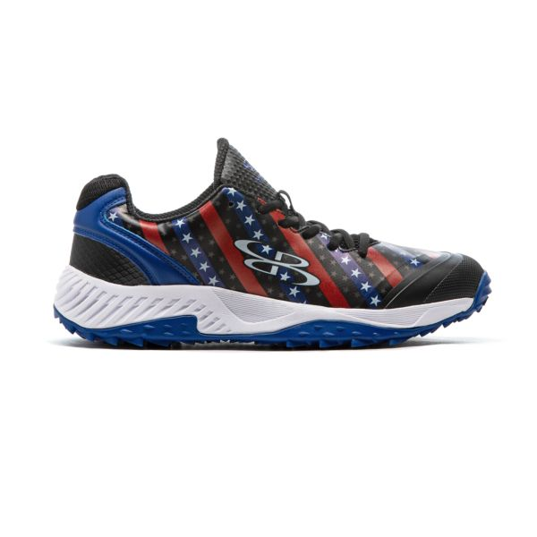 Men's Dart Flag 8 Turf Black/Royal/White