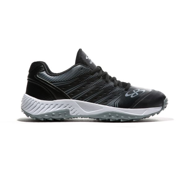 Men's Dart 3002 Low Turf Shoes Black/Gray