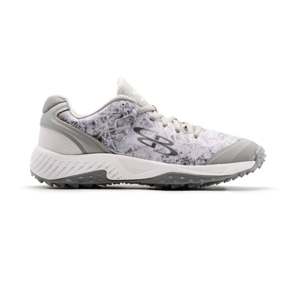 Men's Dart 3011 Icy Low Turf Shoes White/Gray