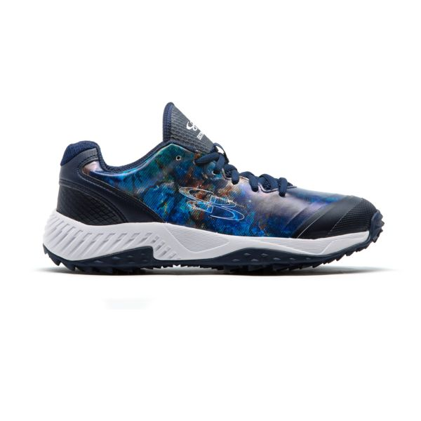 Men's Dart Galactic Turf Shoes Navy/White