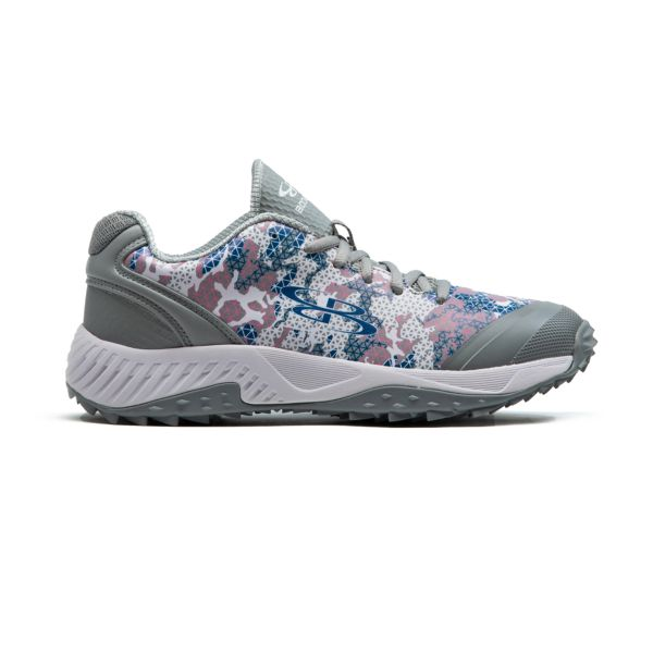 Men's Dart Tech Ops Turf Shoes White/Azure/Pink