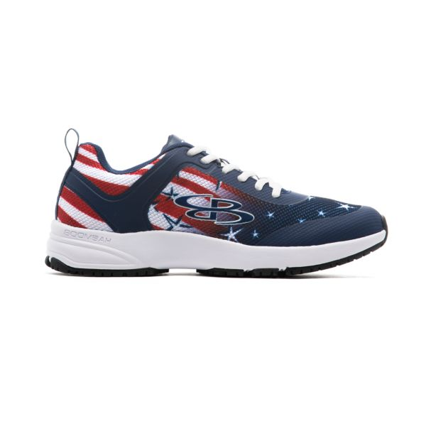 Men's Turfleisure Dynamic Shoes Navy/Red/White