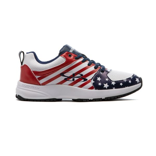 Men's Turfleisure Classic Flag 1 Turf Shoe Navy/White/Red