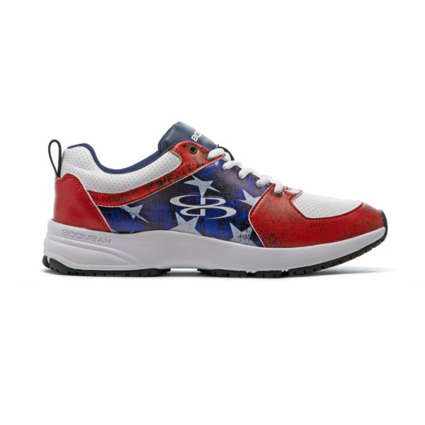 Men's Turfleisure Classic Flag 2 Turf Shoe Navy/White/Red