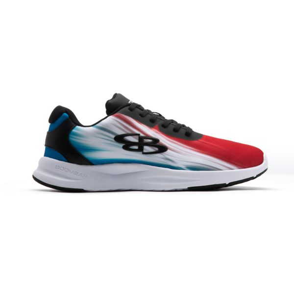 Men's Genesis Dash Fitness Shoes Black/Red/Cyan