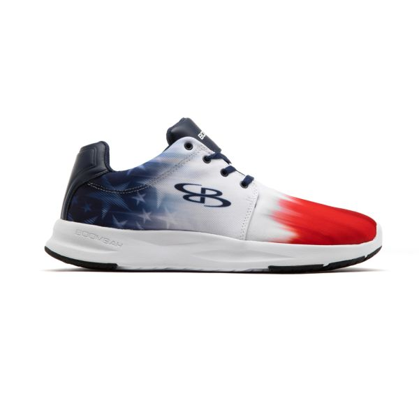 Men's Genesis Drift Fitness Shoes Navy/Red/White