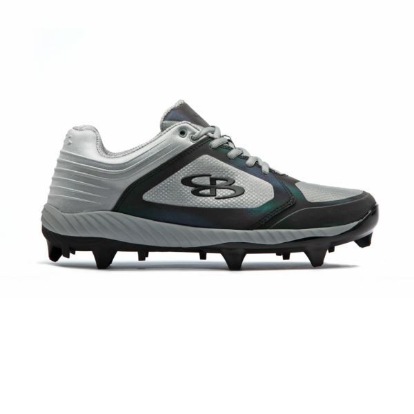 Men's Ballistic Lights Out Molded Cleat Gray/Oil