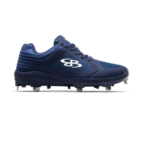 Men's Ballistic Metal Cleats Navy/Navy