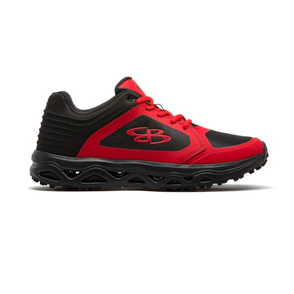 Men's Ballistic Low Turf Shoe Black/Red