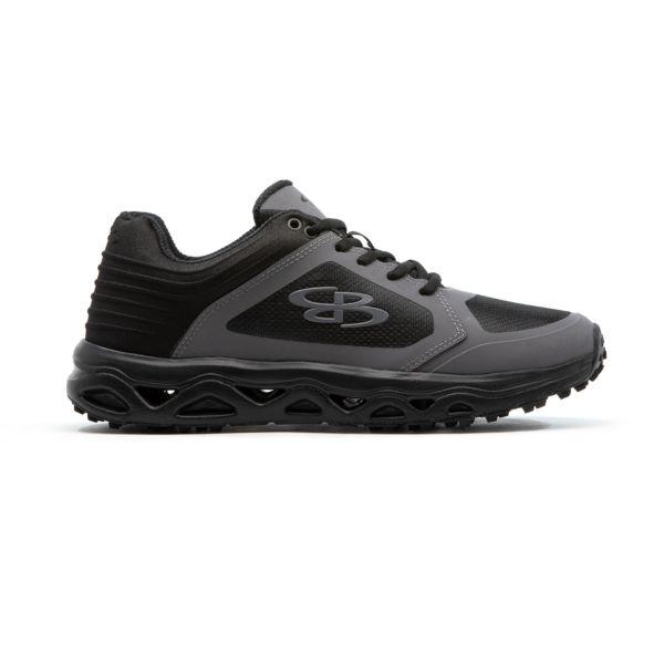 Men's Ballistic Low Turf Shoe Black/Shadow Gray