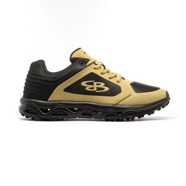 Men's Ballistic Turf Shoe Black/Vegas Gold