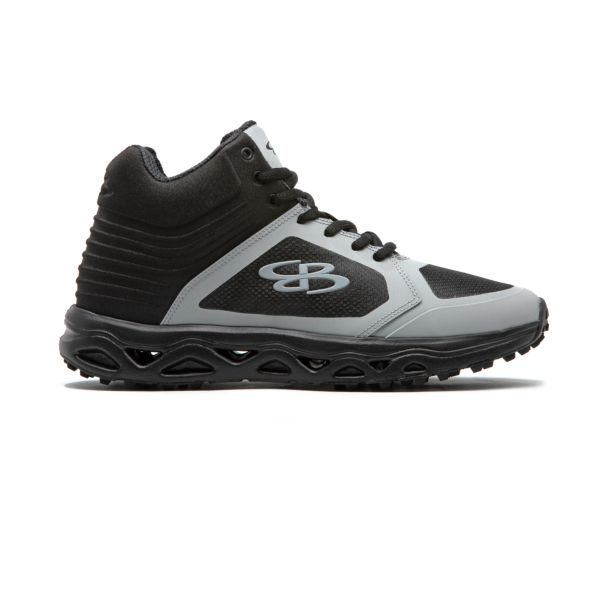 Men's Ballistic Mid Turf Shoe Black/Gray