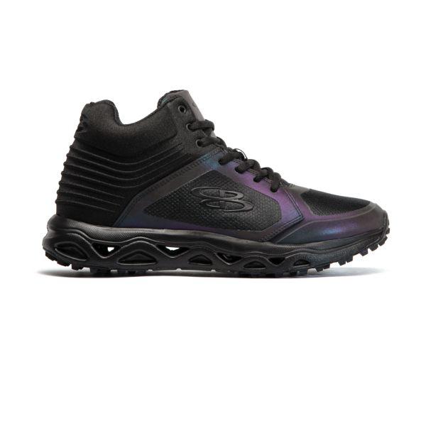 Men's Ballistic Lights Out Turf Mid Shoe Black/Oil