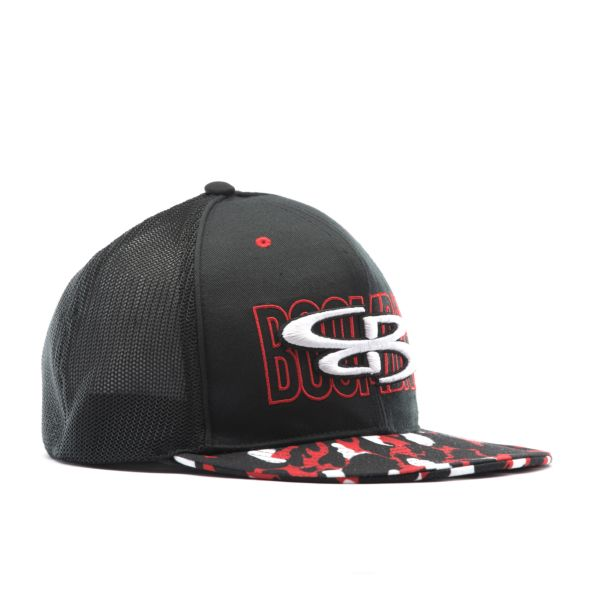 Elite Series Mesh Back Hat Black/Red/White