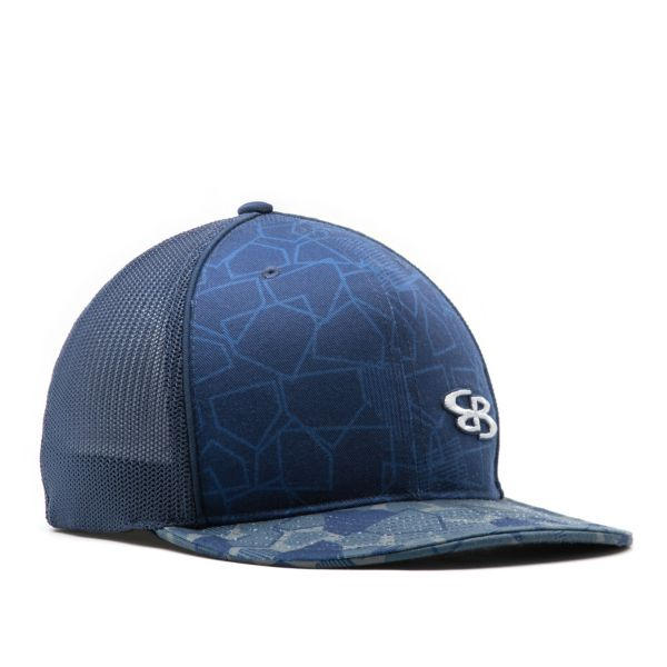 Elite Series Mesh Back Hat Navy/Gray/Storm