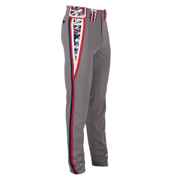 Hypertech Series Youth Venom Digital Camo Pant Steel/Navy/Red