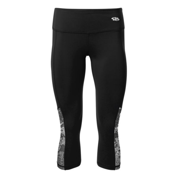 Women's Fame Lightweight Compression Capri Leggings