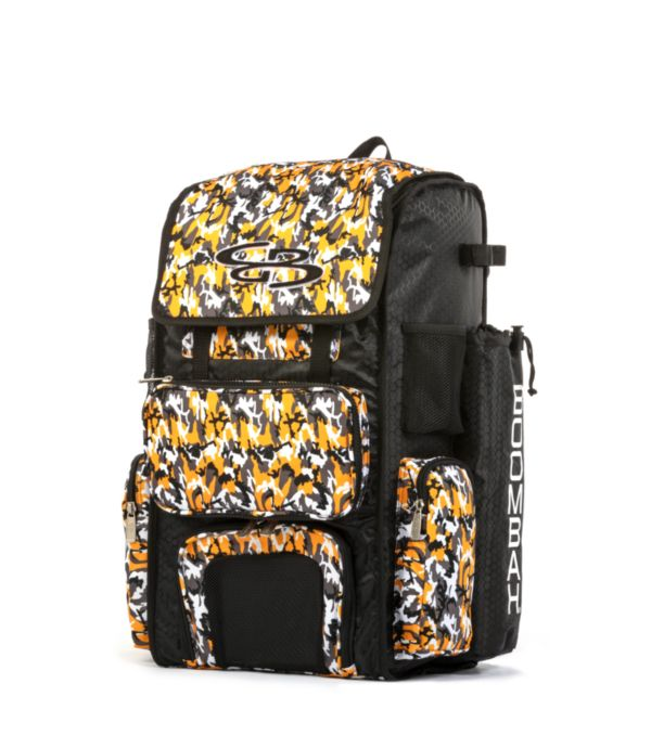 Superpack Bat Bag 2.0 Woodland Camo Black/Gold