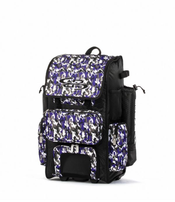 Rolling Superpack 2.0 Woodland Camo Black/Purple