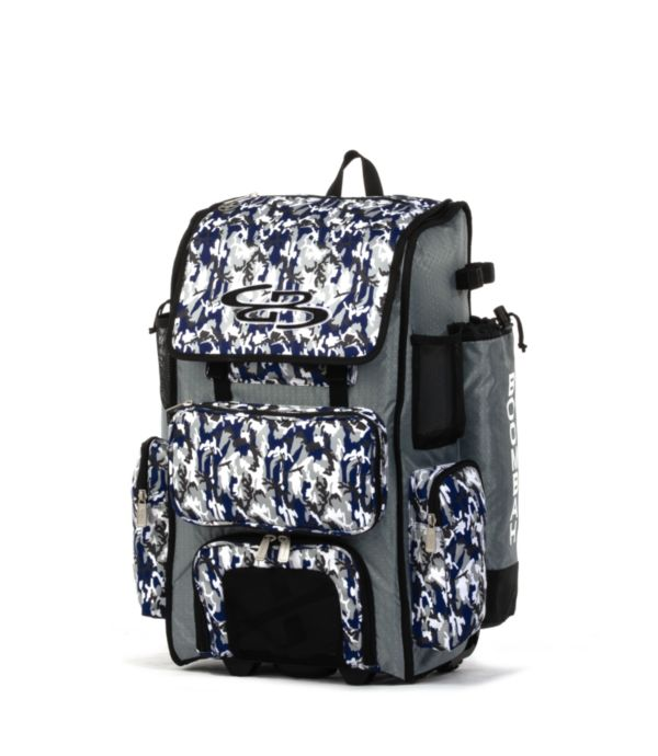Rolling Superpack 2.0 Woodland Camo Gray/Navy