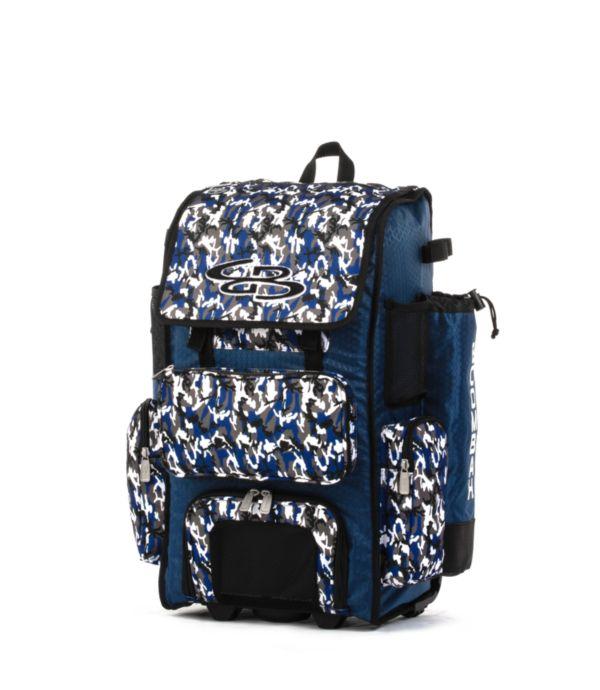 Rolling Superpack 2.0 Woodland Camo Royal/Black