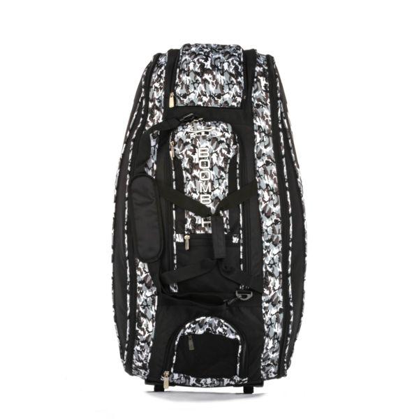 Rolling Beast Bat Bag 2.0 Woodland Camo Black/Gray