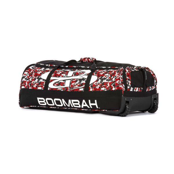 Brute Rolling Bat Bag 2.0 Woodland Camo Black/Red