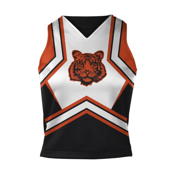 Girls' Custom Cheer V-Neck Shell