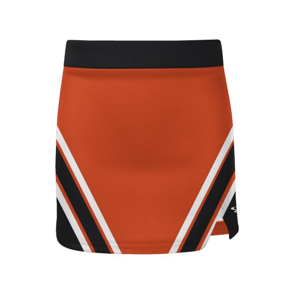 Girls' Custom Cheer V-Notch Skirt