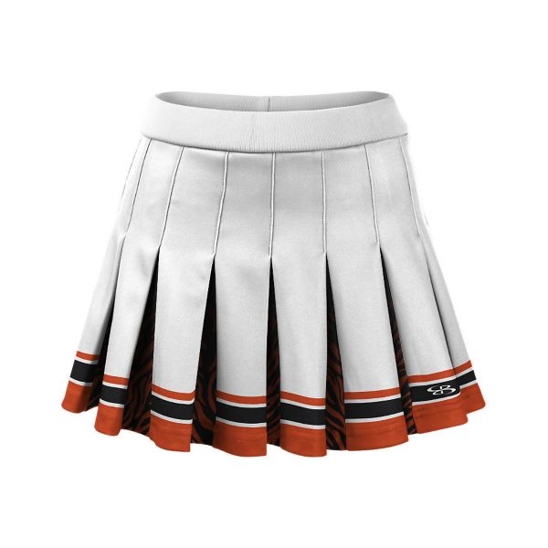 Girls' Partial Dye, Cheer Pleated Skirt (PS-4070W)