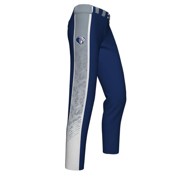 Girl's Custom Partial Sub Full Length Fastpitch Pant (PS-5094W)