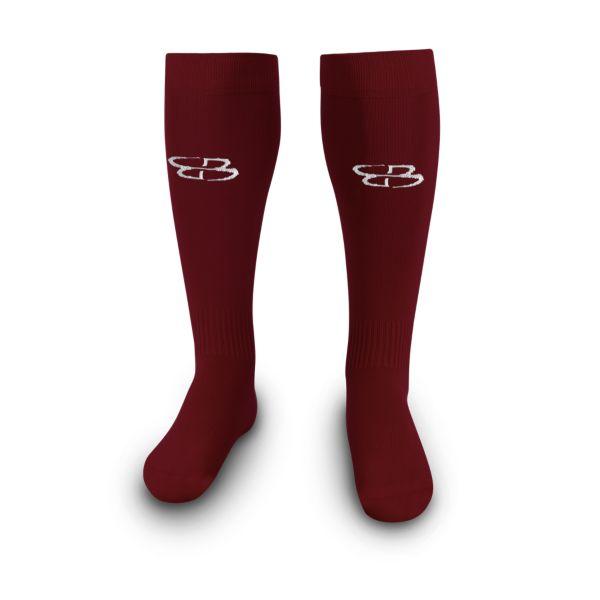 Men's Vent Sock Maroon