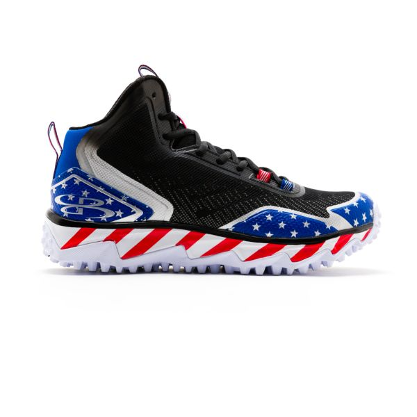 Men's Berzerk Stars & Stripes Mid Turf Shoe