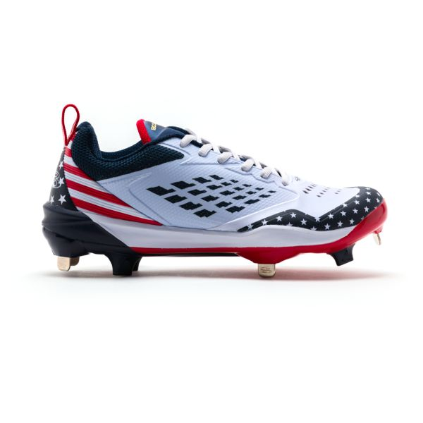 Men's Marauder Flag Metal Cleats