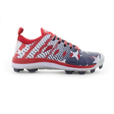 Men's Squadron USA Flag Molded Cleats