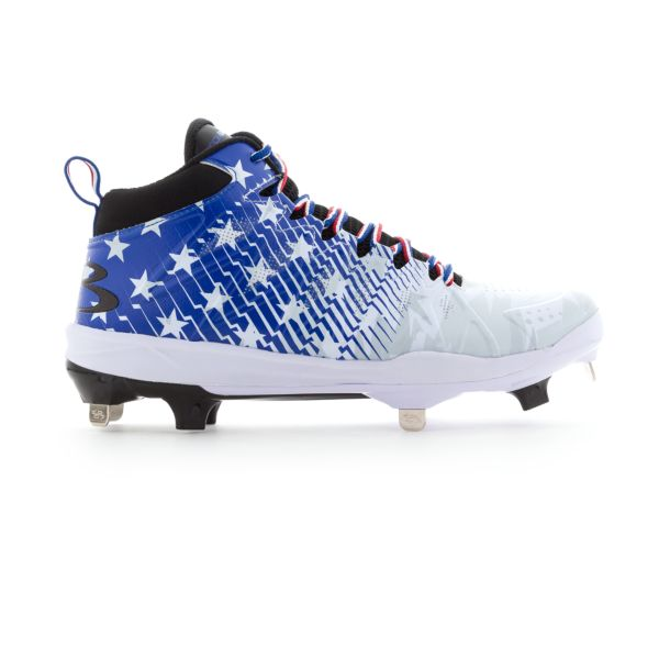Men's Squadron Flag Mid Metal Cleats