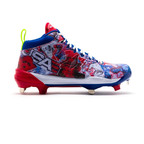 Men's Squadron USA Mid Metal Cleats