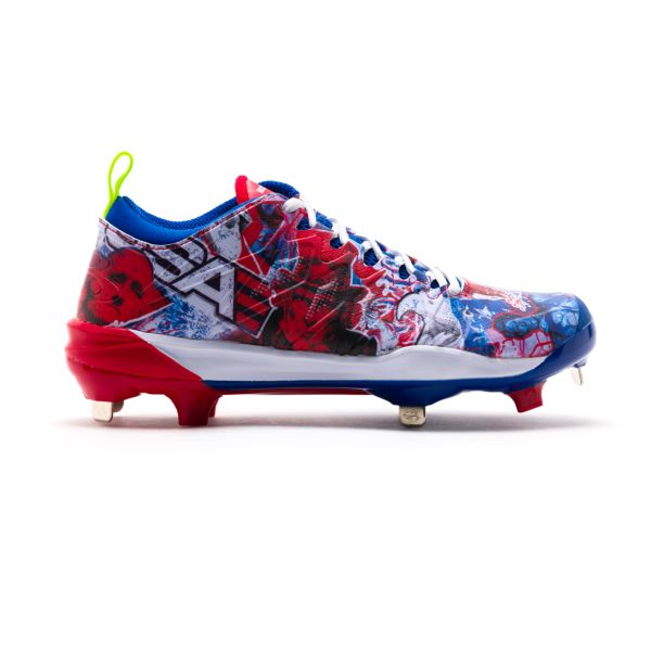 Men's Squadron USA Metal Cleats
