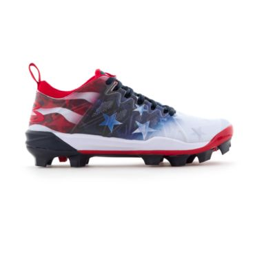 Women's Squadron USA Flag Molded Cleats