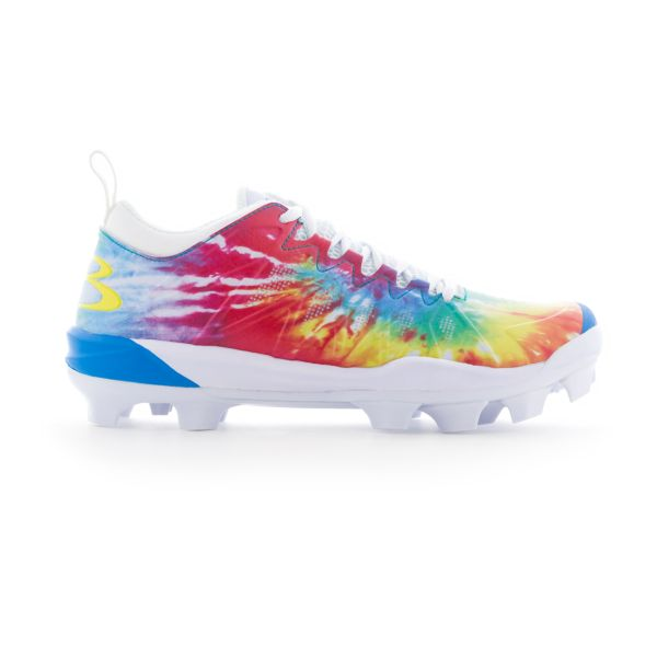 Women's Squadron Tie Dye Molded Cleats