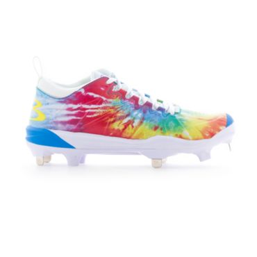 Women's Squadron Tie Dye Metal Cleats