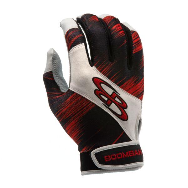 Adult Torva INK Batting Glove 3002 Scratch Black/Red