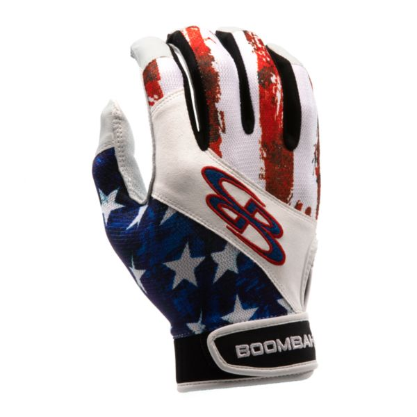 Adult Torva INK Batting Glove 3005 USA Stars & Stripes Navy/Red/White