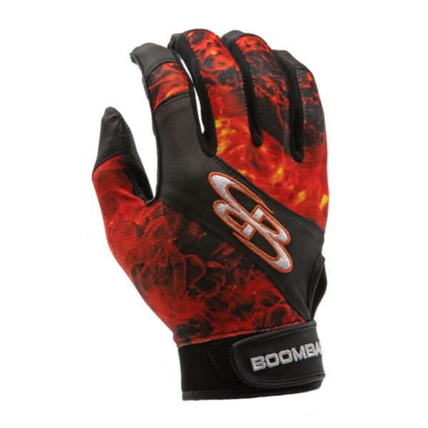 Adult Torva INK Batting Glove 3006 Fire Black/Orange