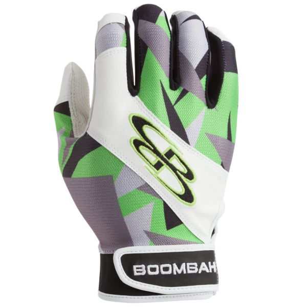 Adult Torva INK Batting Glove 1260 Stealth Camo Black/Lime Green
