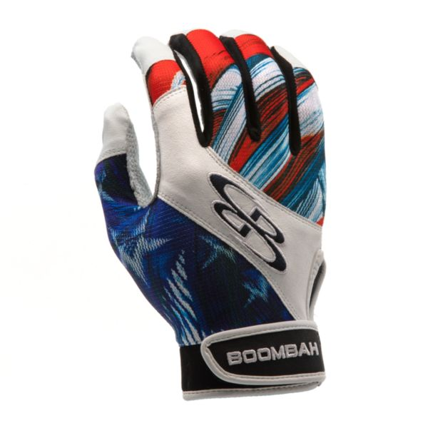 Youth Torva INK Batting Glove 3004 USA Wave Navy/Red/White