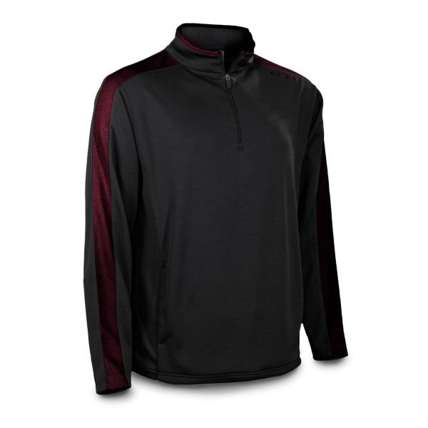 Men's Verge Striped Quarter Zip Pullover