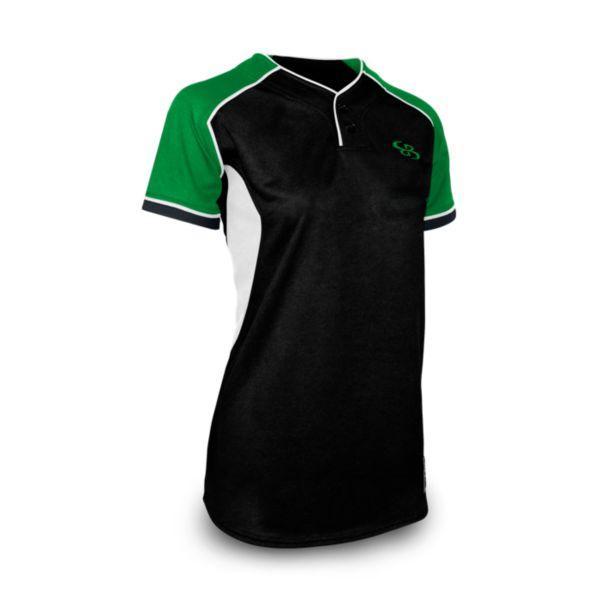 Women's U4160 2-Button Fastpitch Jersey